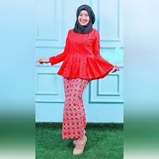 model baju kebaya muslim model kebaya muslim terbaru modern dan elegan model baju dan