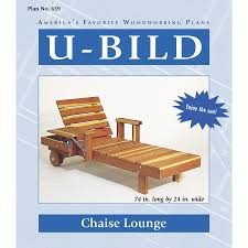 Plans For Wooden Chaise Lounge Shop U Bild Chaise Lounge Woodworking Plan At Lowes Com