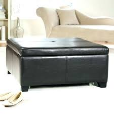 Large Tufted Leather Ottoman Fancy Tufted Leather Ottoman Coffee Table Medium Size Of Coffee