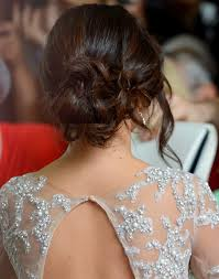 messy low bun hairstyle 8 totally cute homecoming hairstyles you