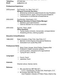 Resume Example Singapore by Sensational Design Cv Resume Example 5 Of A Resume Example