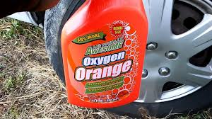 la awesome degreaser awesome orange cleaner degreaser test review on tires