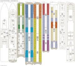 crystal symphony deck plans cabin diagrams pictures crown princess
