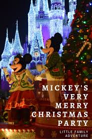 mickey u0027s merry christmas party family adventure