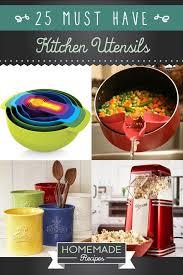 ustensil cuisine 25 must kitchen utensils recipes