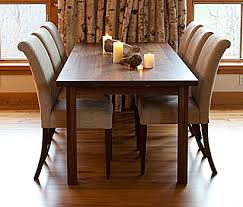 solid walnut dining table modern dining furniture traditional dining furniture custom solid