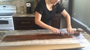paper bag flooring wood grain tool technique for paper bag floor