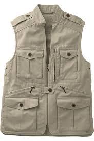 Men 39 s bush poplin safari vest vests men 39 s travel smith