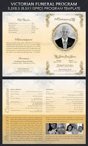 funeral programs template 20 modern and professional free psd funeral program templates
