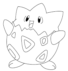 pokemon coloring pages togepi togepi coloring page jpg 1080 1132 coloring pages pinterest
