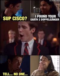 Glee Meme - who else knew grant was on glee before fun fact melissa benoist was
