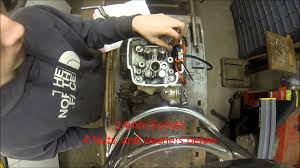 trx450r rebuild motor tear down instructional video youtube