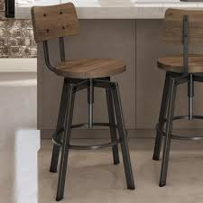 adjustable height bar table 17 stories karly adjustable height bar stool reviews wayfair