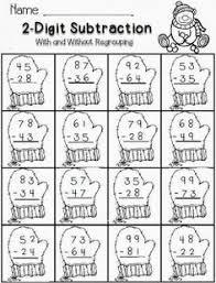 3 digit subtraction free 2nd grade math novelle writting