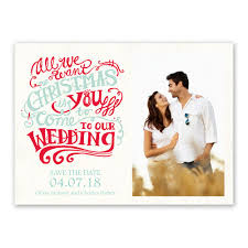save the date ideas christmas wish card save the date invitations by