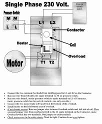single phase 2 pole contactor wiring diagram single wiring diagrams