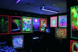 Black Light Bedrooms Stoner Bedroom Blacklight Www Indiepedia Org