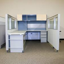 Herman Miller Reception Desk Used Herman Miller 8x8 68