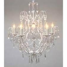 All Crystal Chandelier Murano Venetian Style All Crystal Chandelier Lighting With White