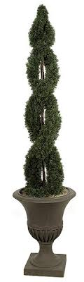 artificial topiary trees outdoor topiary 6 spiral