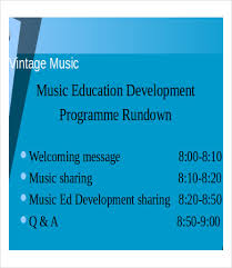 music powerpoint template 7 free ppt documents download free