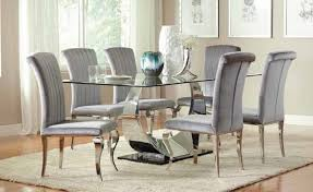 glass dining room table set stunning bases for glass dining room tables pictures house