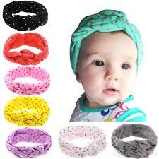 braided headbands baby cotton headbands infant kids elastic braided headbands