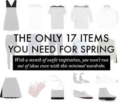a minimalist and classic spring capsule wardrobe u2014 the quiet kind