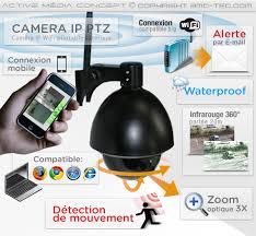 le exterieur avec detecteur de mouvement ipw ptz 900 éra ip ptz wifi extérieur avec détection de