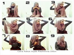 tutorial hijab pashmina tanpa dalaman ninja let s try 10 cara memakai hijab pashmina sederhana untuk anda