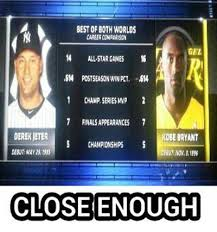 Kobe Rape Meme - nba meme team on twitter kobe bryant vs derek jeter http t co
