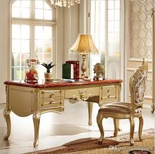 retro home office desk french baroque style luxury executive office desk european classic