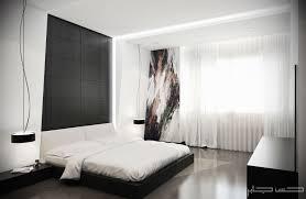 Contemporary White Bedroom Furniture Modern Black U0026 White Bedroom Interior Design Ideas Hort Decor