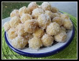 cuisine choumicha arabe boules à la noix de coco de choumicha chezoumhasna