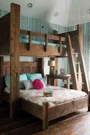 Make Wooden Loft Bed by Best 25 Girls Bunk Beds Ideas On Pinterest Bunk Beds For Girls