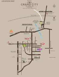 Bahadurgarh Metro Map by Prateek Grand City Property In Siddharth Vihar Ghaziabad