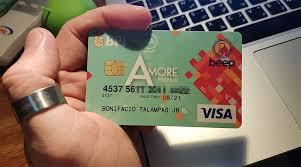 get a prepaid card get visa prepaid card with emv and beep for p250