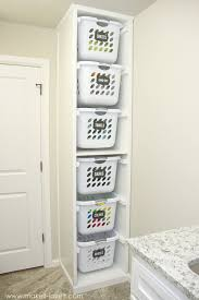 perfect for in closet to hold tubs so you can take out one without