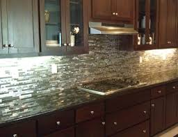metal backsplashes for kitchens beautifully shiny silver backsplash home design