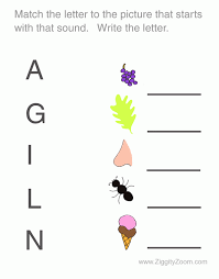worksheet preschool letters iv ziggity zoom