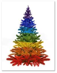 offbeat home decor rainbow hued u0026 colorful holiday cards to brighten up mailboxes