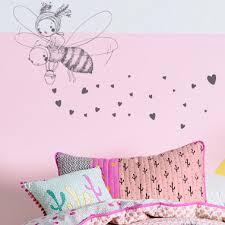 stickers chambre fille feerique stickers cchambre enfant fée et abeille