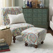 Paisley Accent Chair Accent Chairs Multi Colored Accent Chairs Companionship Small
