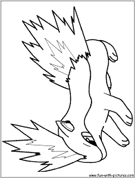 zombie pokemon coloring pages coloring page
