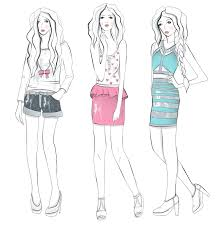 how to draw fashion design sketches for beginners inderecami drawing