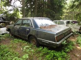 nissan datsun 1982 junkyard find 1982 datsun 280c aka nissan cedric the truth