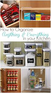 How To Organise A Small Kitchen - best products to organize anything u0026 everything in your kitchen