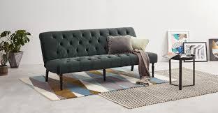 slipper sofa bed midnight velvet made com