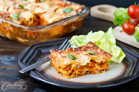 cuisine lasagne chicken lasagna home cooking adventure