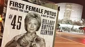 Nude Memes - nearly naked hillary clinton portrayed as the beast in hollywood